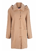 Kesti Duffle Ladies duffle coat with detachable hood