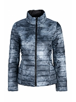 Reversible Puffa Jacket 3/4 Lenth Lightweight Feather and down Jacket