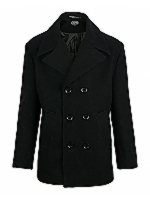 Pea Coat DB short length Pea Coat