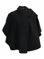 Short Scarf Cape Classic short cape with scarf detail