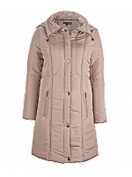 Footy Jacket Lined Coat with detachable hood