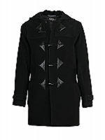 Duffle Coat Hooded duffle coat