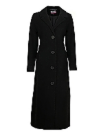 Ladies Long SB tailored full length coat