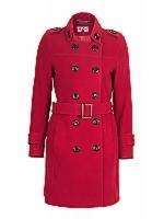 Shirt Coat DB belted coat