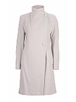 Tab 3/4 Length 2 way collar coat