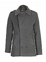 Yogie DB fitted military coat