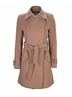 Army Trench Mid Length Trench Coat