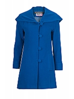 Melba Fit SB tailored coat with shawl or hood option